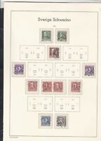 sweden 1939-41 stamps page ref 18053