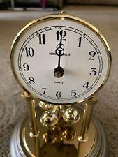 Howard Miller 9. in.  Glass Dome  Mantel Clock W. Germany