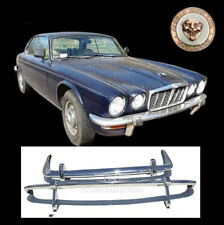 Brand new Jaguar XJ6 Series 2 stainless steel bumpers