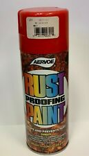 Aervoe Rust Proofing Paint, 12 oz, Spray Paint, Available in 4 colors