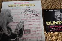 DUMPLIN DOLLY PARTON HAND SIGNED AUTOGRAPHED SHEET MUSIC FYC promo CD BEST SONG