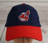 Cleveland Indians Baseball Hat Adjustable Chief Wahoo Stitched Logo  MLB  St8