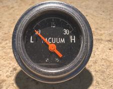 Vintage vacuum gauge 2� Electric Borg Warner?