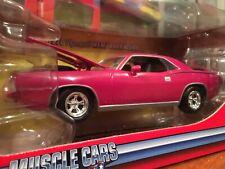 Johnny Lightning 1:24 1970 Plymouth Hemi Cuda Panther Pink Item 53565