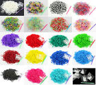 600 Rubber Loom Bands Refills For DIY With S Clips Over 40 Variations To Choose