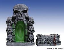 Scotia Grendel 25mm Miniature Skull Gate & Altar works with Dwarven Forge D&D