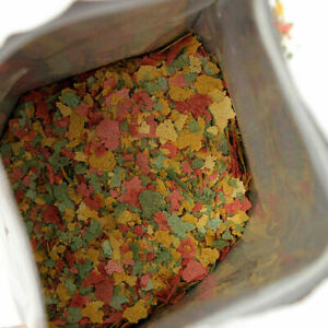 Tropical & Cichlid Fish Flakes Bulk Aquarium Pond Flake 100g G01 Food O0W4 V6A4