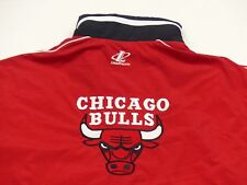 * Chicago Bulls Retro Starter D'été Veste * NBA * Vintage * Rouge * Gr: XL * TIP TOP