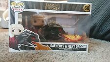 Game Of Thrones - Daenerys And Fiery Drogon Funko Pop