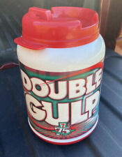 7 Eleven 75th Anniversary Double Gulp Insulated Mug 2002 Soccer Whirley Corp