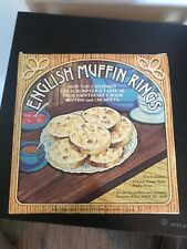 New listing Vintage English Muffin Rings 4 Heavy Gauge Muffin Rings 4 inch 4658 Fox Run used