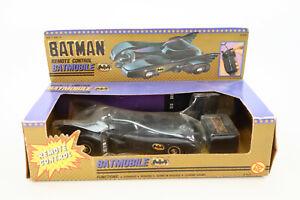 New 1989 Toybiz Batman The Movie Remote Control Batmobile Factory Sealed