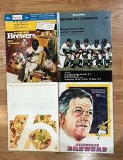 HUGE Collection of 1971-2000 Milwaukee Brewers Yearbooks + 82 WS 75 AS Programs+
