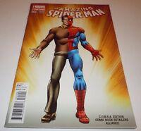 Amazing Spider-Man #1 Comic Marvel VARIANT COBRA Comic Alliance Retailer 2014