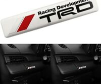 TRD racing Emblem insigne Toyota GT86 Camry Corolla Yaris Supra CROWN REIZ