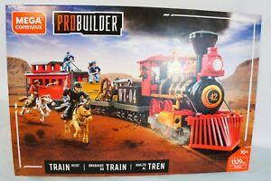 Mega Construx Probuilder Train Heist - New in Unopened Box