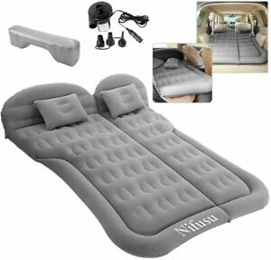 Air Mattress Camping Bed Inflatable Car Tent Travel Bed Backseat Portable