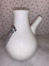 Vintage Stoneware Dr Nelson's Improved Inhaler Rare Collectors Item