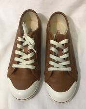 UGG Youth Australia Authentic Broderick Pebbled Chestnut Sneakers Size 6