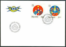 Iceland First Day Stamp Cover
