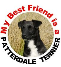 2 Patterdale Terrier Car Stickers By Starprint - Auto combined postage