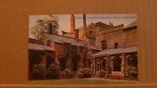 Unposted Postcard Chester Cathedral The Cloister Court Early colour