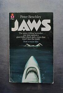 Peter Benchley JAWS Pan 1975 Vintage pb