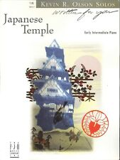 Japanese Temple Early Intermediate Piano Solo Sheet Music Kevin Olson