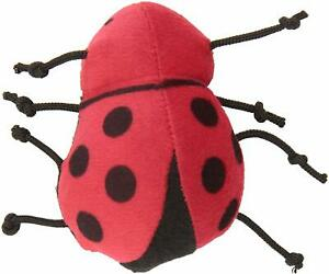 MARSHALL PET FERRET TOY PULL N GO LADY BUG VIBRATING. FREE SHIPPING TO THE USA