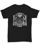 Masonic apron lodge symbol shirt - Freemason Scottish rite Master mason tee gift