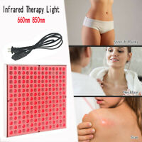 45W Led Therapy Red Light Panel 660nm 850nm Home Saloon Infrared Therapy Light