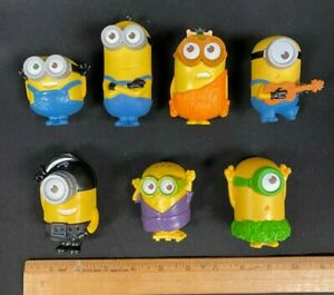 2015 MCDONALD'S *MINIONS* ACTION FIGURE ASSORTED LOT #1 (7) NEW COND!! (NM)