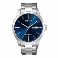 d6f4b32d3d04 Citizen Nh8350-83l Blue Dial Stainless Steel Automatic Mens Watch 40mm