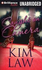 CAUGHT ON CAMERA unabridged audio book on CD by KIM LAW