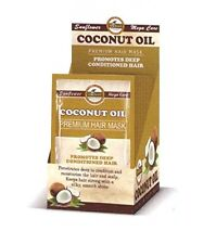 1PC Difeel Coconut Oil Hair Mask Promotes Deep Conditioned Hair 1.75oz