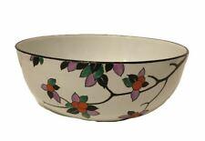 More details for art deco shelley bowl orange tree blossom pattern 8574