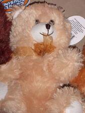 """Teddy Bear Cuddly Cousins 10""""  New!!Caramel"""