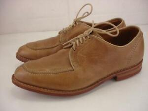 Allen Edmonds Clark Street Horween Chromexcel Natural Tan Shoes Men's 7.5 3E EEE