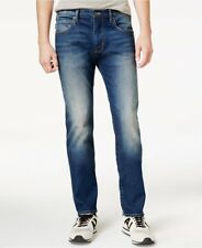 NWT Men's Armani Jeans Style J28 Slim-Fit 6 Pocket faded Jeans Size 31W 34L