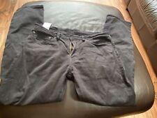 Levis 511 Jeans W34 L30 Black Mens Jeans