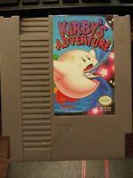 Kirby's Adventure - Nintendo Entertainment System NES Vintage Cartridge