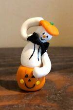 Dollhouse Miniature Artisan Pumpkin & Ghost Decoration!