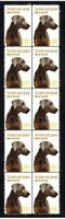 WEIMARANER YEAR OF THE DOG STRIP OF 10 MINT VIGNETTE STAMPS 1