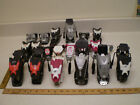 LOT OF Look Fischer Rossignol Ski Bindings For PARTS ONLY USED REPAIR *AS IS*