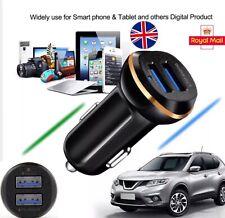 2020 New 2 iN 1 DUAL USB 12-24V BLACK BEST CAR CHARGER CIGARETTE SOCKET LiGHTER