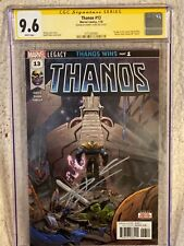 Thanos 13 9.6 cgc 1st print signed cates 1st appearance cosmic ghost rider