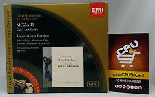 MOZART - COSI' FAN TUTTE - HERBERT VON KARAJAN - EMI Classic - Cofanetto CD