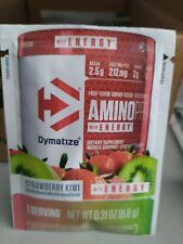 Dymatize Amino Pro with Energy 1 Serving 8.8g (11 Packets) Strawberry Kiwi