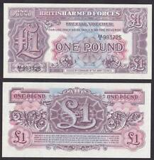 British Armed Forces Special Voucher 1948 2nd Series One 1 Pound UNC