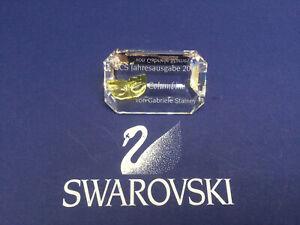 Swarovski Crystal Masquerade SCS Columbine Plaque, German - 255 781. MIB